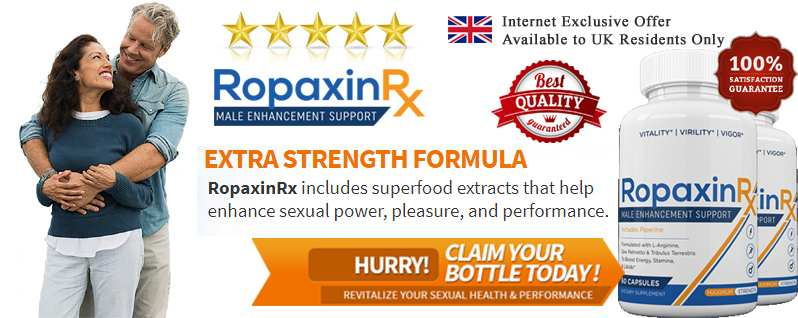 Ropaxin RX Male Enhancement – Enhance Energy & Stamina on The Bed!