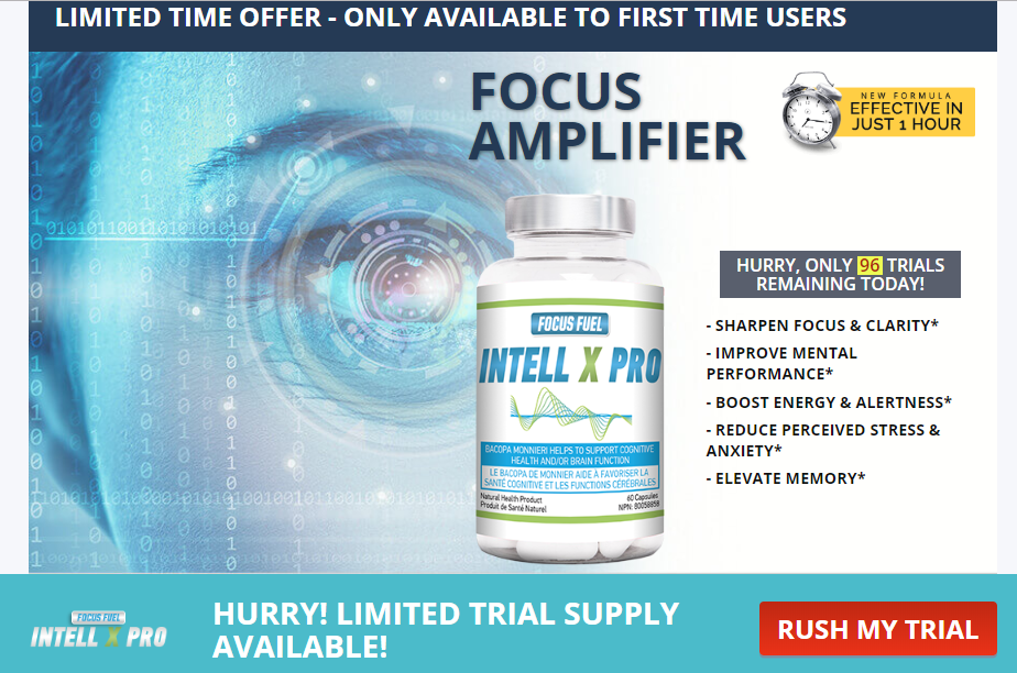 Intell X Pro Pill Reviews – 100% Brain Booster Formula! Price & Buy!