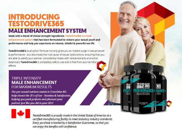 Testo Drive 365 Reviews – Boost Up Your Overall Sexual Health & Stamina!