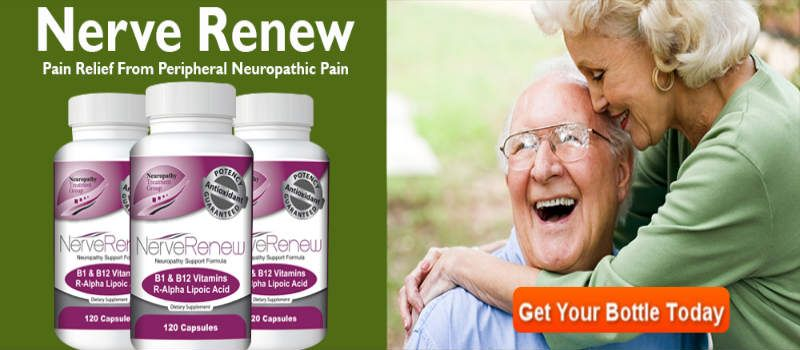 Nerve Renew – Reduces Inflammation, Stress & Anxiety Naturally!