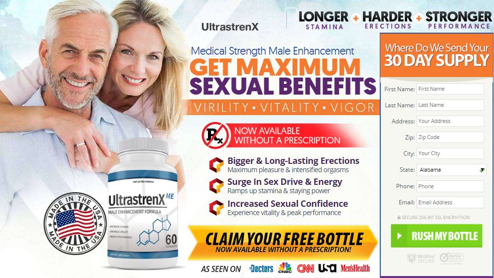 UltraStrenX Male Enhancement - 2