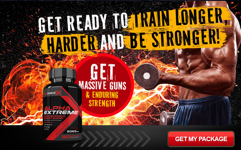 Bio Thrive Alpha Extreme – Enhance Muscle Size & Get Strong Muscle!