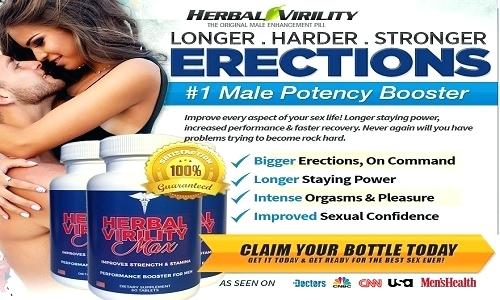 Herbal Virility Max – Boost Sexual Performance & Get Better Sex Life!