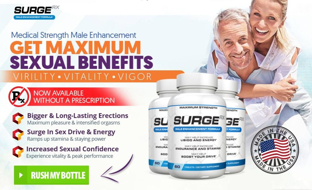 Surge RX – Boost Sexual Power & Get Healthy Sexual Life!