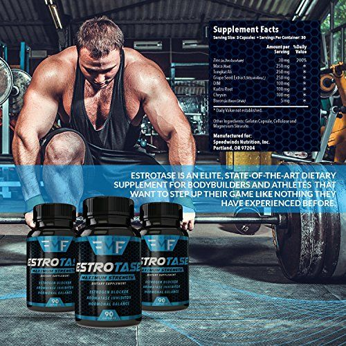 Estrotase – Boosts Muscle Development & Energy Level!