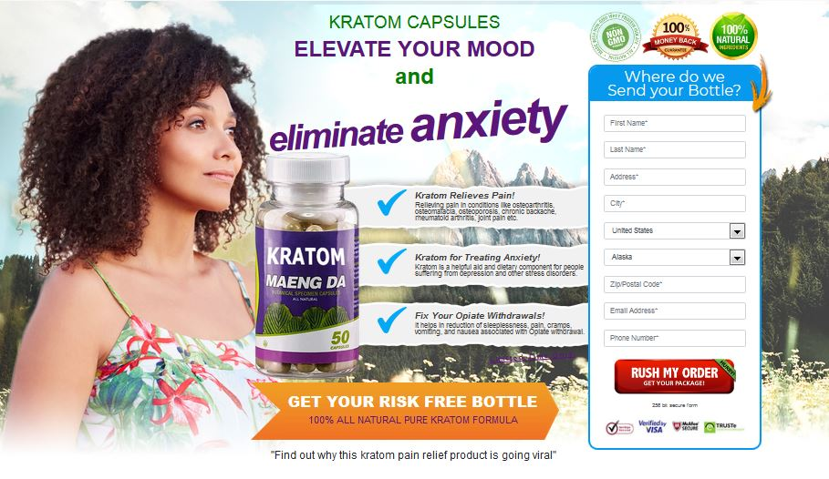Kratom Maeng Da Capsules – Does Kratom Pain Relief Really Work?