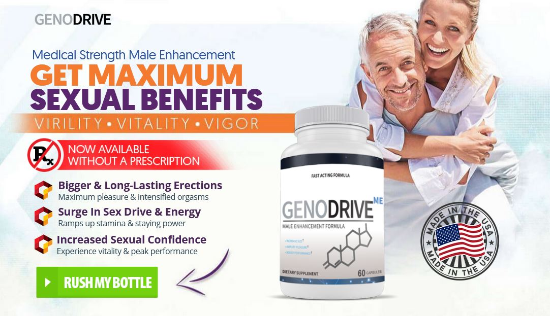 GenoDrive Reviews – *Shocking Side Effects* Must Read Before Get Trial