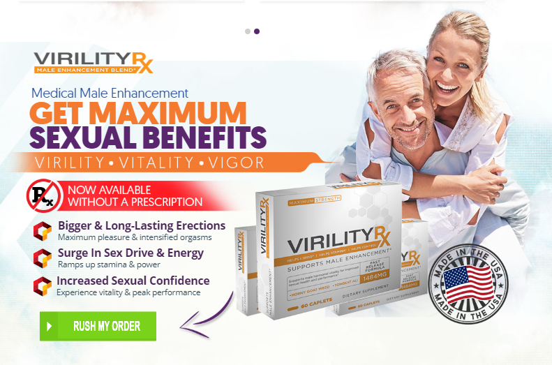Premium Pure Virility RX – Boost Sexual Stamina & Energy Level!