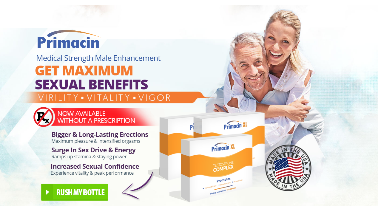 Primacin XL – Does It Testosterone Pills Work? Read Pros, Cons & Buy!