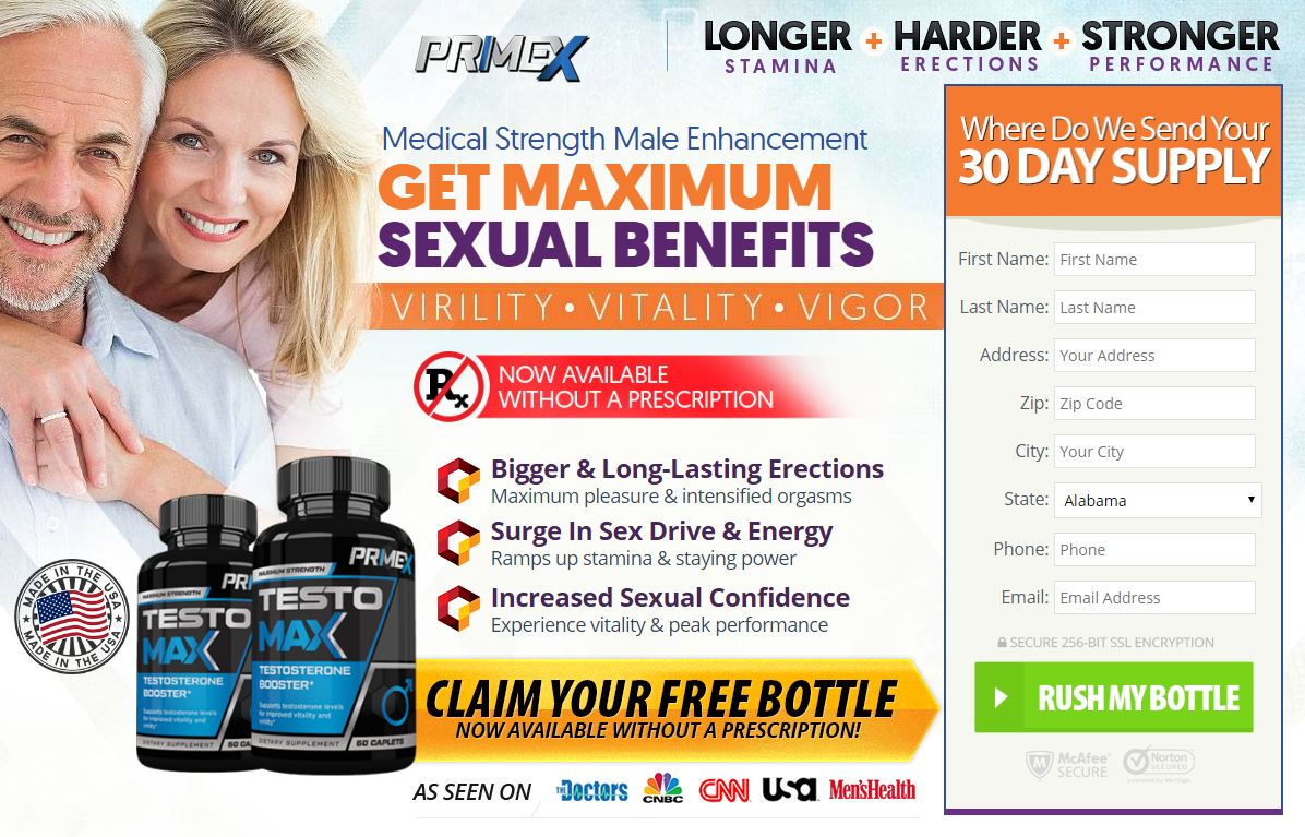 Prime X Male Enhancement – Effective Formula To Solve Sex Problems!