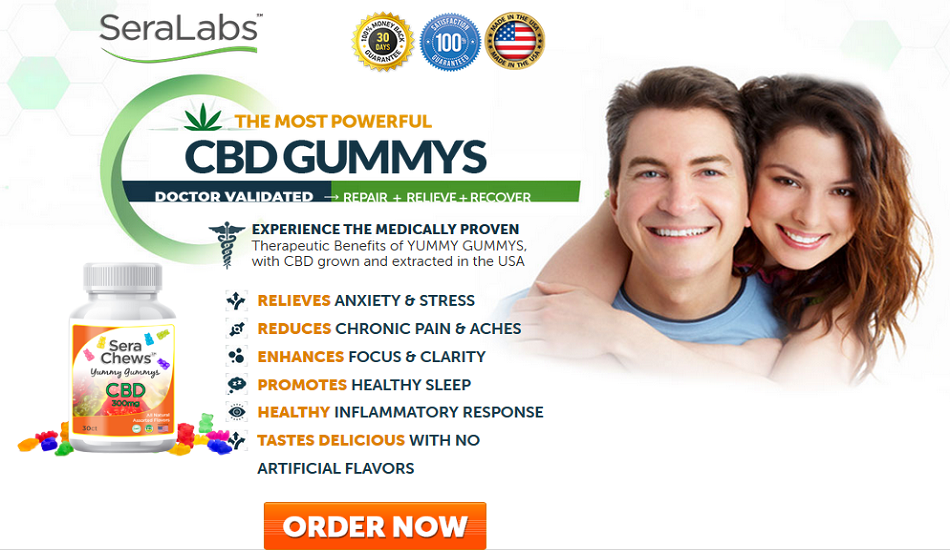 Sera Labs Yummy Gummy CBD Chews – Boost Memory & Improve Health!
