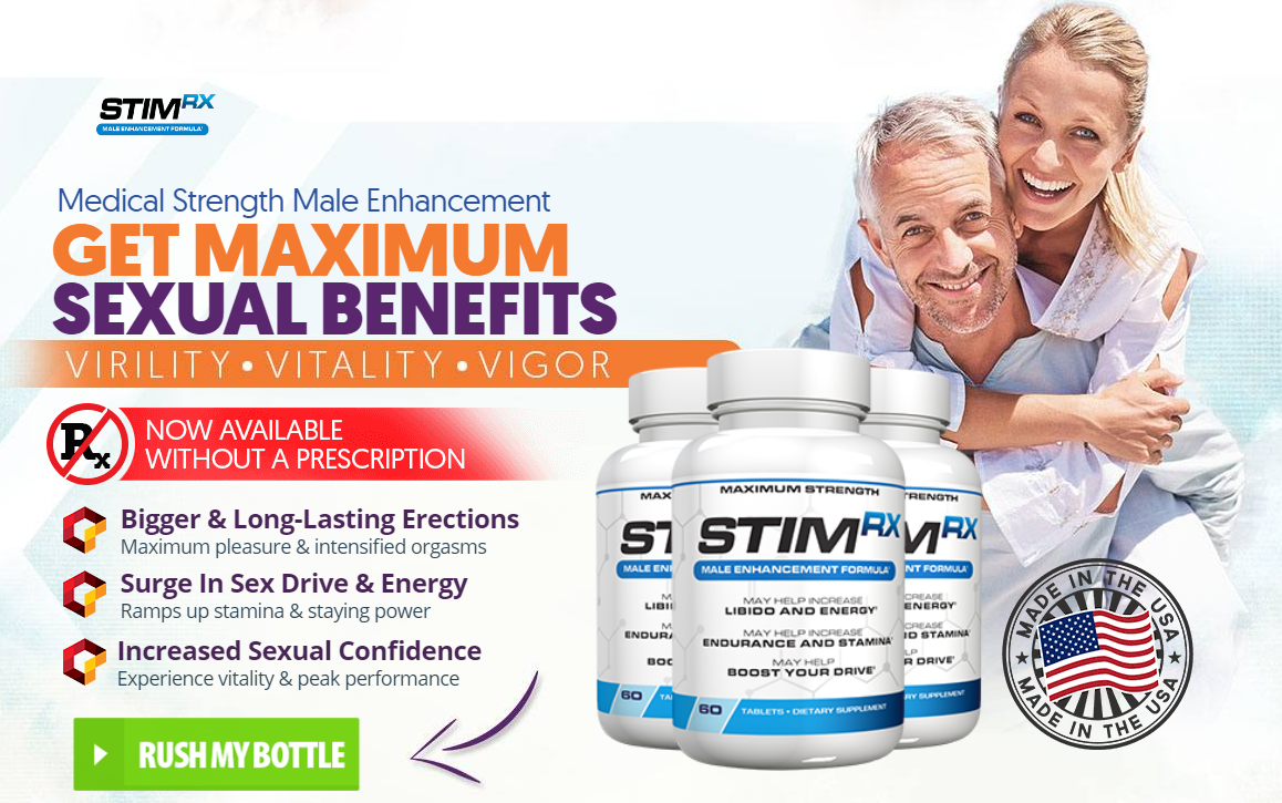 Stim Rx Reviews – Read Male Enhancement Pills, Benefits, Uses & Buy!
