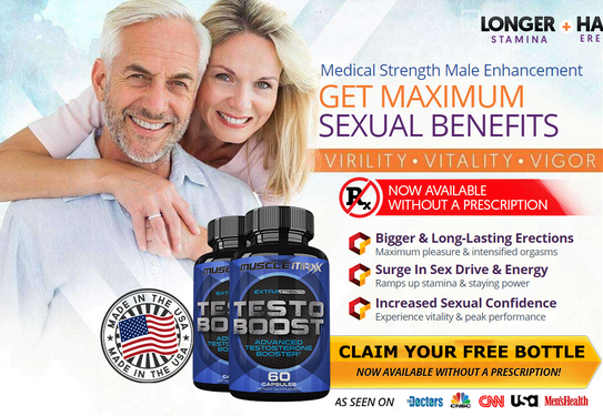 Muscle Maxx Testo Boost – The Effective Testosterone Booster Pills!
