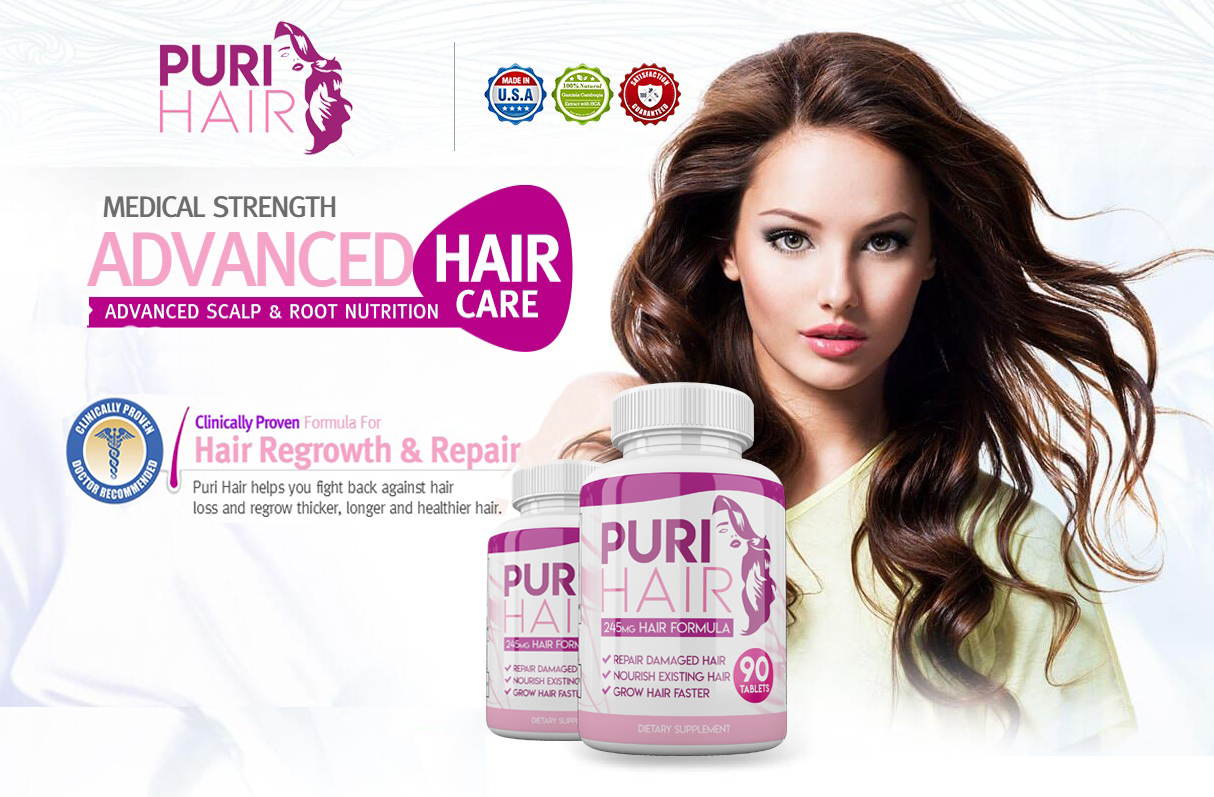 Puri Hair Growth – Get Healthy, Long & Strong Hair In Short Time!