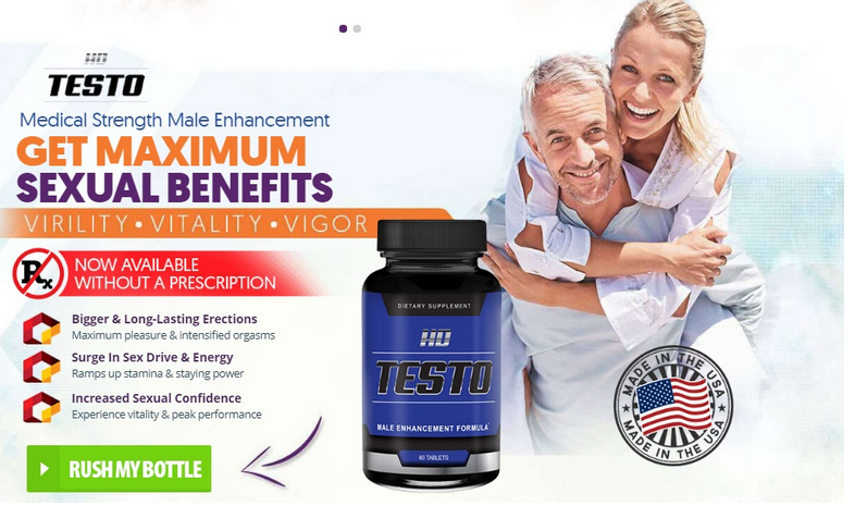 HD Testo – Male Enhancement Pills To Boost Sexual Strength & Stamina!