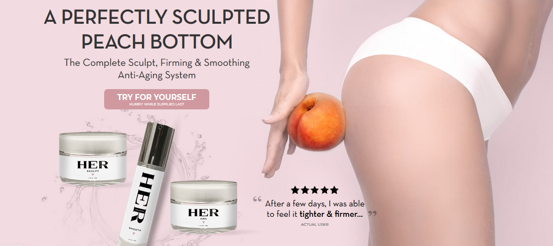 HerSolution Booty – Wonderful Cream To Improve Size Of The Booty!