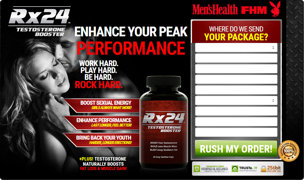 RX24 Testosterone Booster -2