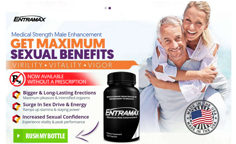 Entramax Reviews – Increase Sexual Performance & Confidence Level!