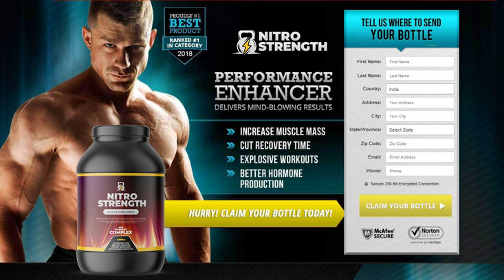Nitro Strength Reviews – Best Way To Improve Muscle Mass Naturally!