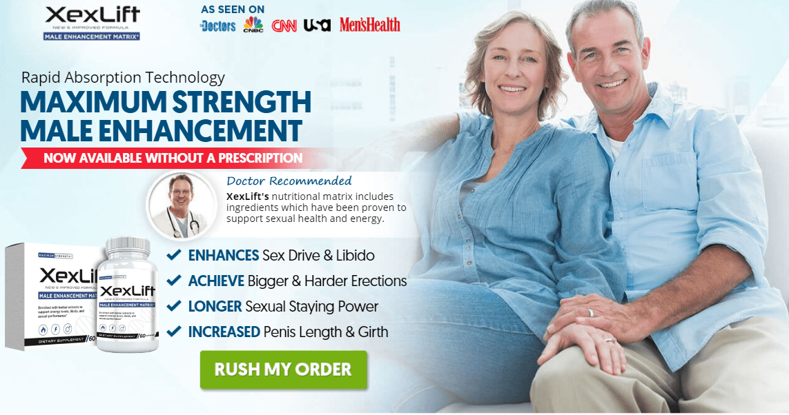 XexLift Reviews – 100% Effective Formula For Male Enhancement! Price