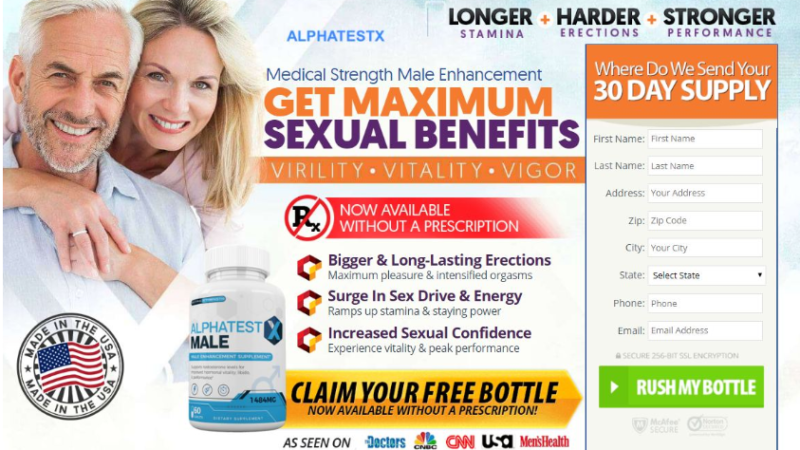 Alpha Test RX Reviews – Boost Sexual Power & Libido Naturally!