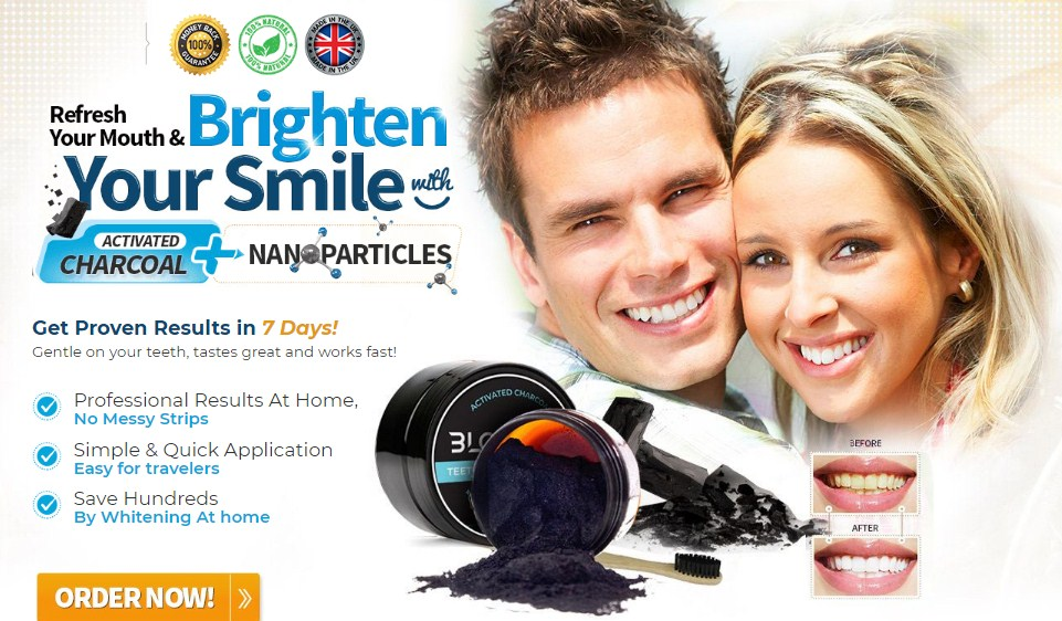 BlqBright Charcoal Teeth Whitening – Get Bright & Beautiful Smile Naturally