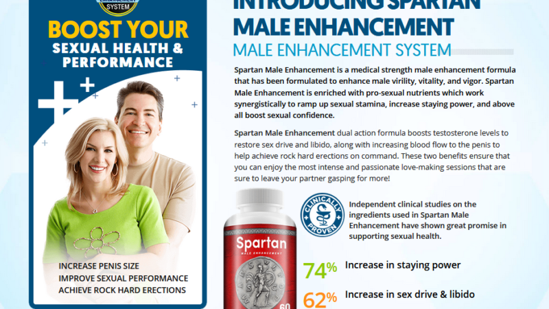 Spartan Male Enhancement – Sexual Health Booster Pills Reviews! Buy