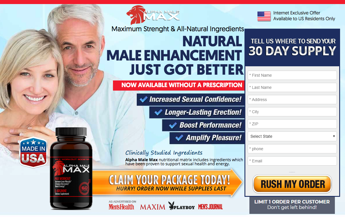 Alpha Male Max Buy