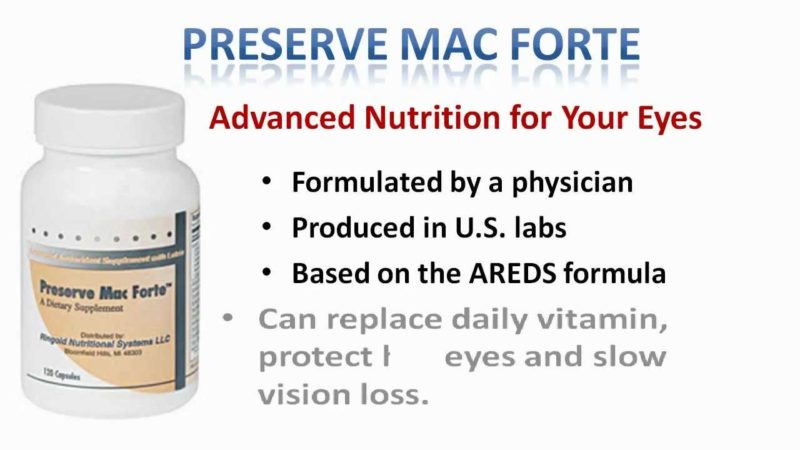 Preserve Mac Forte – Improve Energy Level & Overall Health Naturally!