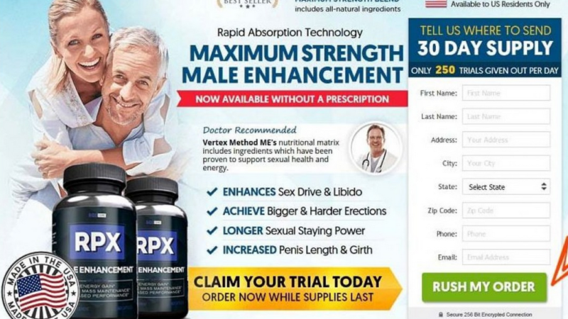RPX Male Enhancement – Easiest Formula To Boost Sexual Power!