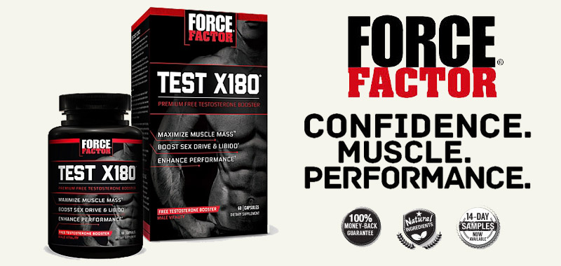 Test X180 Reviews – Force Factor Testosterone Booster To Boost Stamina!