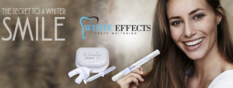 White Effects Teeth Whitening – Easiest Way To Get Strong & White Teeth!
