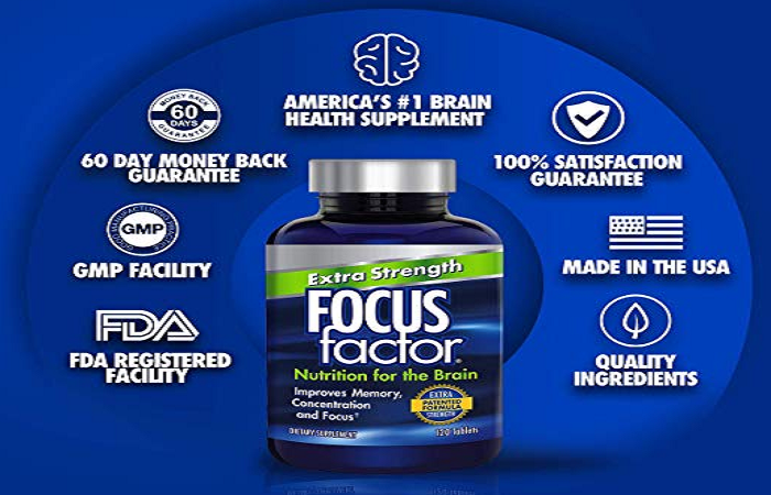 Focus Factor Reviews – increase Memory & Brain Power Easily! Price, Buy