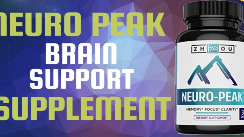 Neuro Peak Review – Enhance Memory & Get Sharp Brain! Price, Buy