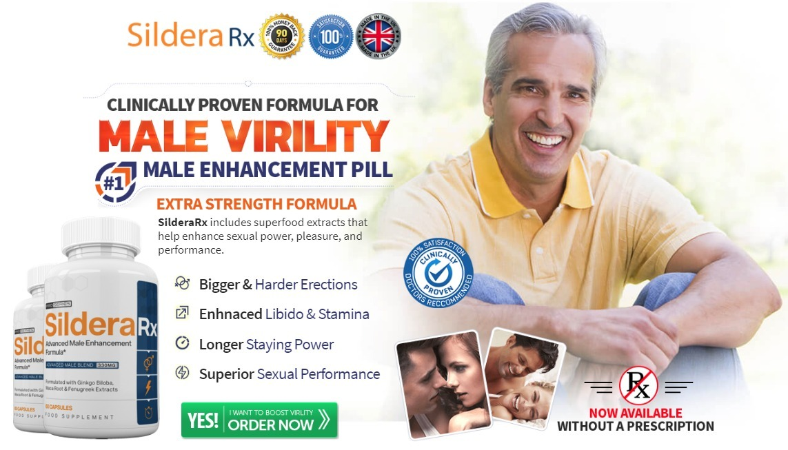 Sildera Rx Reviews – Male Enhancement Pills To Stay Longer! Price & Buy