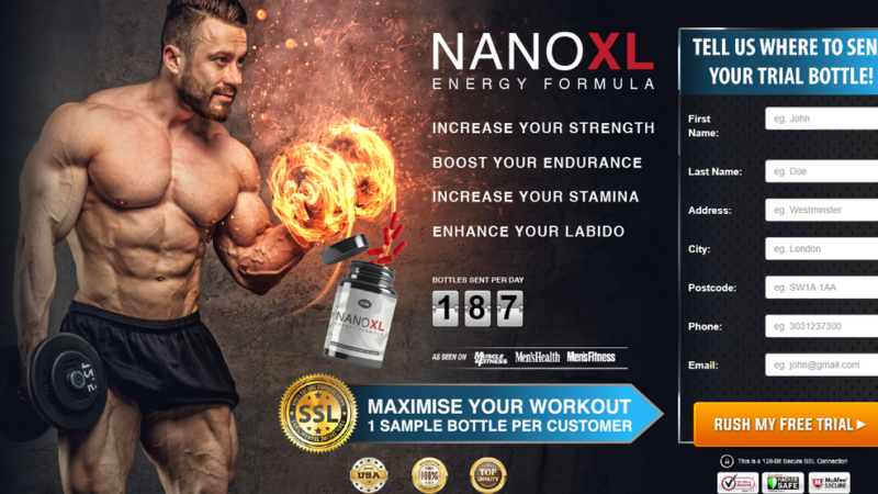 Nano XL Energy Formula – Boost Testosterone Level & Get Better Stamina