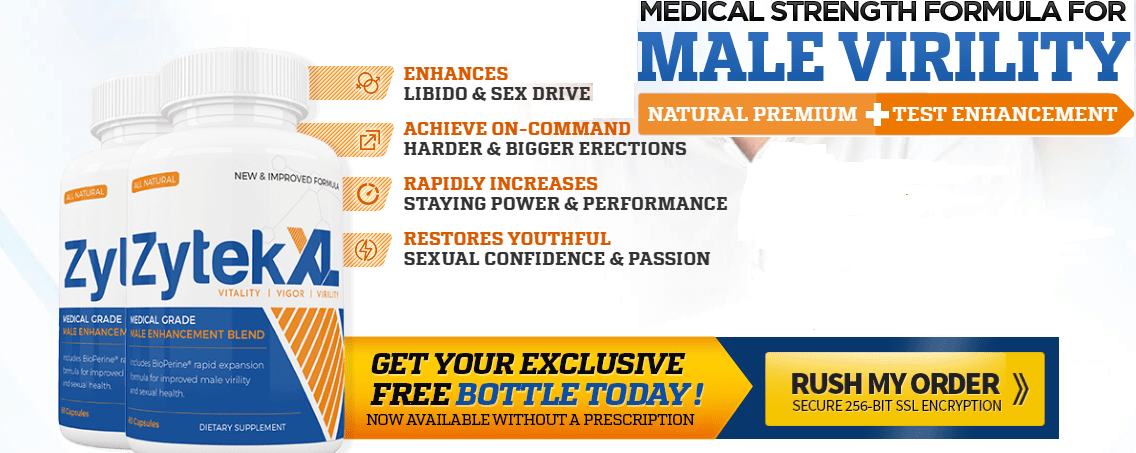 Zytek XL Reviews – Increase Libido & Sexual Stamina Naturally! Price, Buy