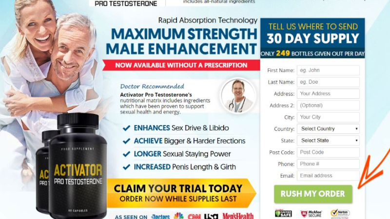 Activator Pro Testosterone – Activate Muscles & Get Better Performance!