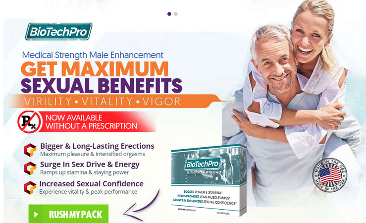 BioTech Pro Reviews – Male Enhancement Pills To Boost Testosterone!
