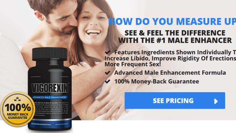 Vigorexin – #1 Male Enhancement Pills To Improve Rigidity Of Erections!