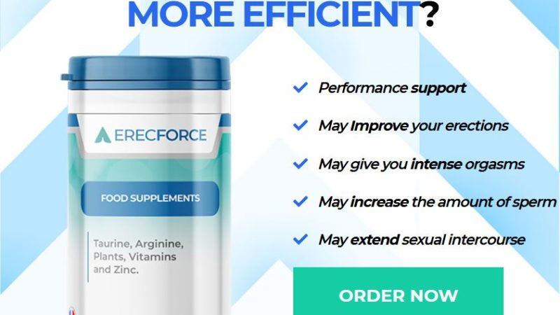 ErecForce Male Enhancement – More Pleasure With Erec Force! Reviews
