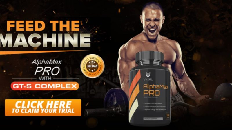 Alphamax Pro NO2 – Nitric Oxide Formula For Muscles & Testosterone!