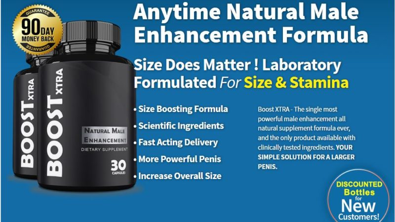 Boost XTRA – Male Enhancement Reviews, Side Effects, Ingredients, Price