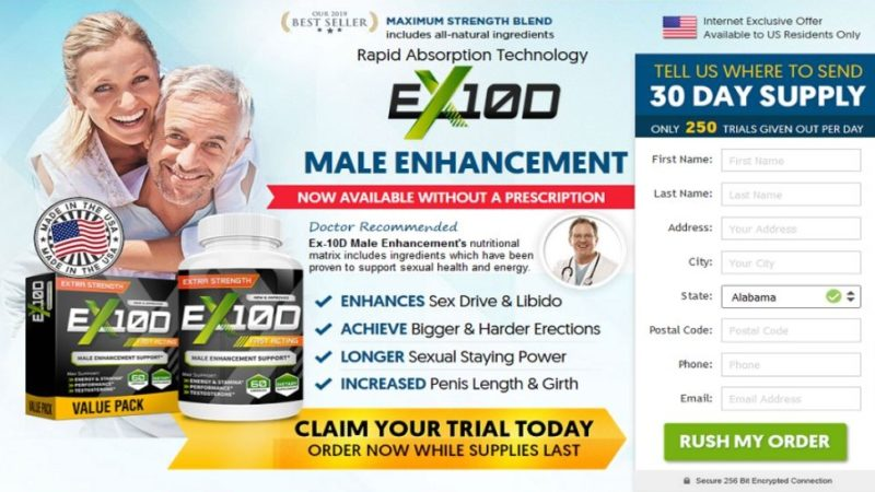 EX 10D Male Enhancement – New Virility Booster for Men! Reviews, Price